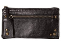 The Sak Sanibel Flap Wallet Black Onyx Wallet Handbags
