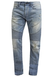 True Religion Geno Relaxed Fit Jeans Lone Rebel Light Blue
