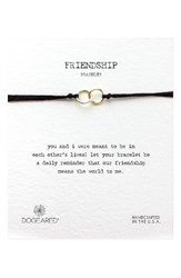 Dogeared Women's Double Linked Friendship Bracelet