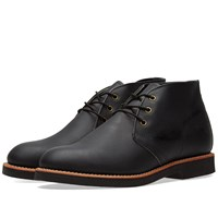 Red Wing Shoes 9216 Heritage Work Foreman Chukka Black