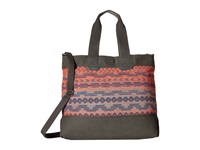 Toms City Ikat Mix Tote Magenta Tote Handbags Pink