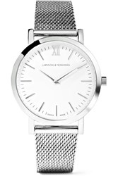 Larsson And Jennings Lugano Stainless Steel Watch Silver
