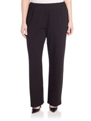 Eileen Fisher Plus Size Ponte Pants