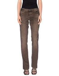 Ralph Lauren Denim Denim Trousers Women Khaki