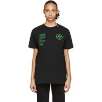 Off White Black Arch Shapes T Shirt