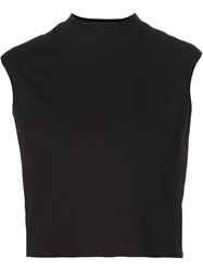 Nomia Cropped Tank Top Black