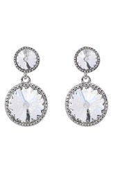 Ted Baker Women's London 'Ronda' Crystal Drop Earrings Silver Crystal
