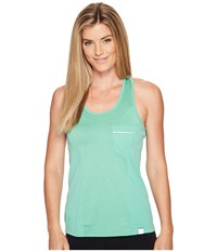 Pearl Izumi Select Escape Tank Top Green Spruce Herringbone Women's Sleeveless