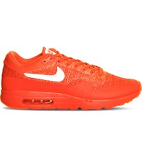 Nike Air Max 1 Ultra Flyknit Trainers Bright Crimson White