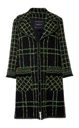 Andrew Gn Embroidered Coat Black