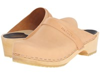 Swedish Hasbeens Swedish Husband Nature Women's Clog Shoes Neutral