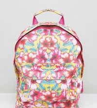 Mi Pac Exclusive Mini Tumbled Backpack In Flower Print Multi Floral