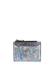 Aimee Kestenberg Zoey Oil Slick Leather Bi Fold Wallet