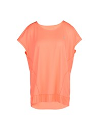 Y.A.S. Sport Topwear T Shirts Women Coral