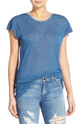 Joe's Jeans Laurel Scoop Back Tee Blue