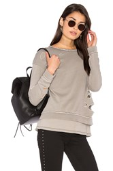 Generation Love Viola Vintage Sweatshirt Gray