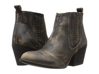Volatile Script Charcoal Women's Pull On Boots Gray