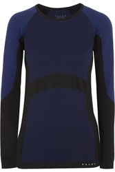 Falke Ergonomic Sport System Paneled Stretch Top Midnight Blue