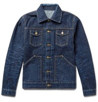 The Workers Club Selvedge Denim Jacket Blue