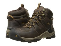 Keen Gypsum Ii Mid Waterproof Coffee Bean Bronze Mist Men's Waterproof Boots Brown