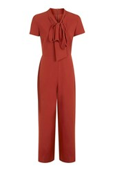 Oh My Love Bow Front Jumpsuit By Rust
