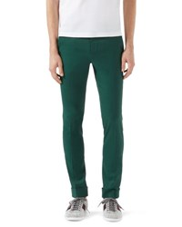 Gucci Highlands Fluid Stretch Twill Pants Green