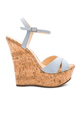 Schutz Emiliana Wedge Baby Blue