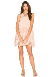 Nightcap Pixie Mini Dress Blush