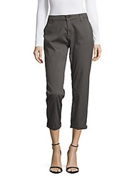 Ag Adriano Goldschmied Cropped Five Pocket Pants Grey