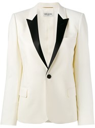 Saint Laurent Dinner Jacket Nude Neutrals