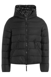 Duvetica Quilted Jacket With Contrast Lining Black