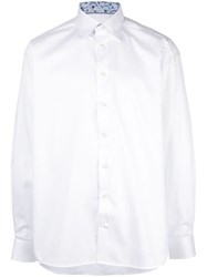 Eton Relaxed Cotton Shirt White