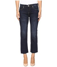 Blank Nyc Clean Denim Crop Kick Flare In Riding Flirty Riding Flirty Women's Jeans Blue