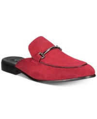 Inc International Concepts I.N.C. Blaze Mules Created For Macy's Shoes Red