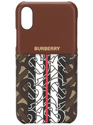 Burberry Monogram Iphone Xr Phone Case 60