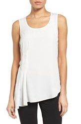 Women's Nydj Asymmetrical Tank Sugar