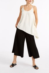 Helmut Lang Summer Wool Culottes Black