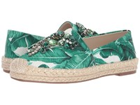 Chinese Laundry Hayden Flat Green Floral Print Flat Shoes