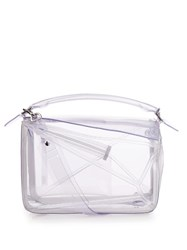 Loewe Puzzle Transparent Bag Clear
