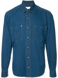Cerruti 1881 Denim Shirt Blue