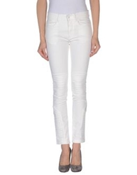 April 77 Denim Pants Ivory