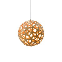 David Trubridge Coral Light Natural Orange 40Cm
