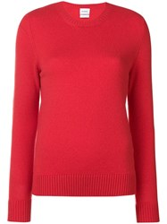 Barrie Round Neck Jumper Red