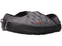 The North Face Thermoball Traction Mule Iv Phantom Grey Heather Print Ketchup Red Men's Shoes Gray