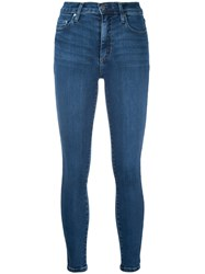 Nobody Denim Cult Skinny Ankle Addictive Women Cotton Polyester Spandex Elastane 29 Blue