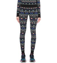 Sweaty Betty Clubhouse Stretch Knit Leggings Clubhouse Jaquard