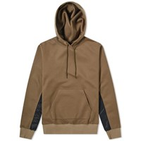 Sophnet. Fabric Mix Hoody Green