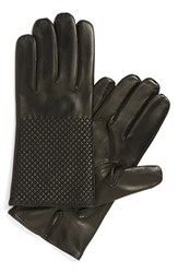 Men's Want Les Essentiels De La Vie 'Dumas' Quilted Lambskin Gloves Black