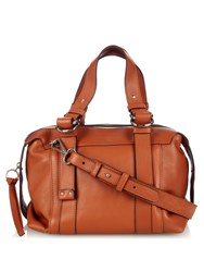 See By Chloe Grained Leather Bowling Bag