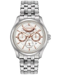 Citizen Men's Automatic Signature Grand Classic Stainless Steel Bracelet Watch 42Mm Nb5000 55A Silver
